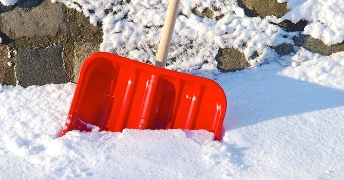 Shoveling Snow Shouldn't Be A Pain In The Back! image